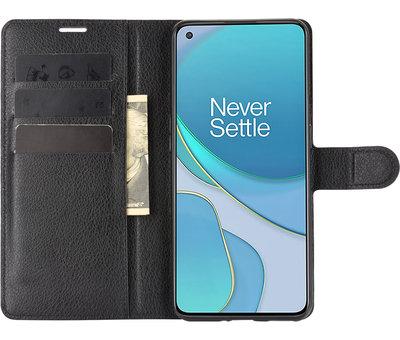 OPPRO OnePlus 9 Wallet Flip Case Zwart