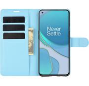 OPPRO OnePlus 9 Wallet Flip Case Blau