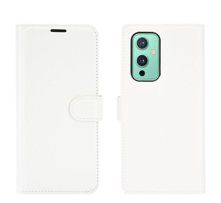 OnePlus 9 Wallet Flip Case Weiß