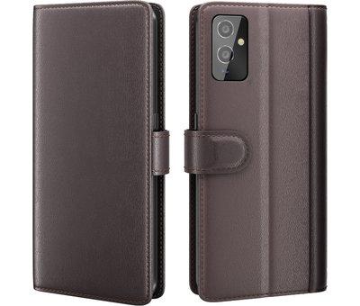 OPPRO OnePlus 9 Wallet Hoesje Echt Leder Bruin