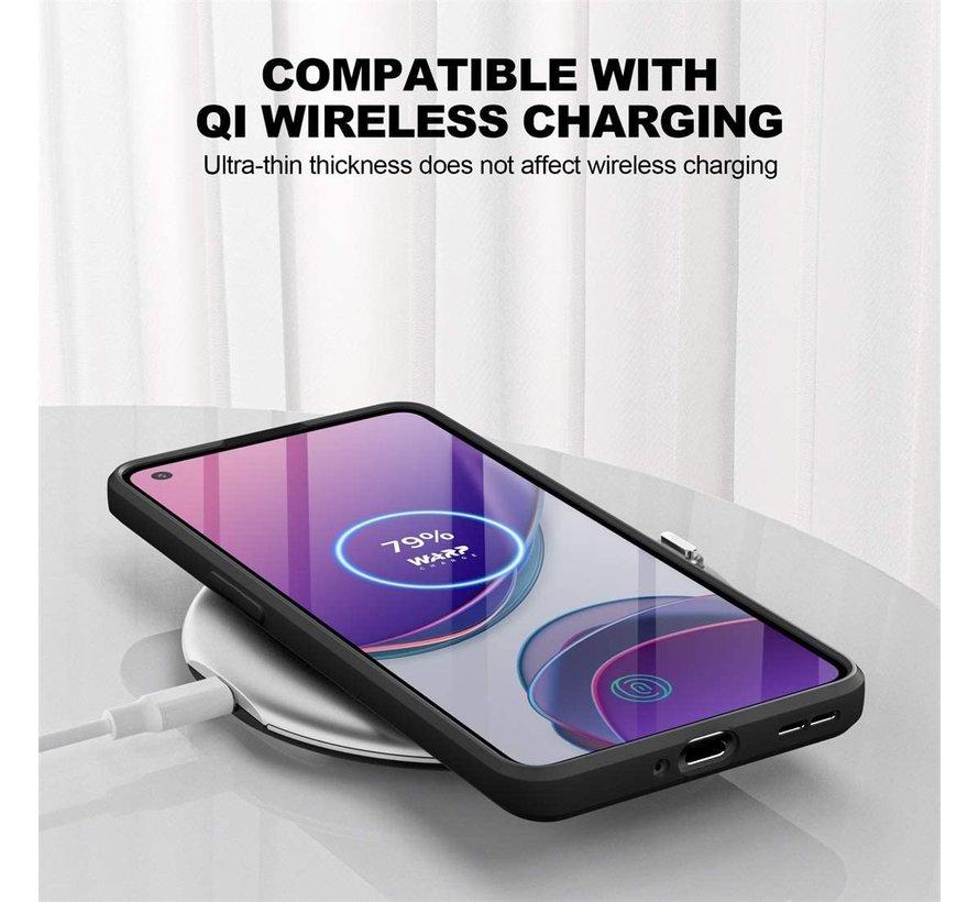 OnePlus 9 Case Flüssiges Silikon Schwarz
