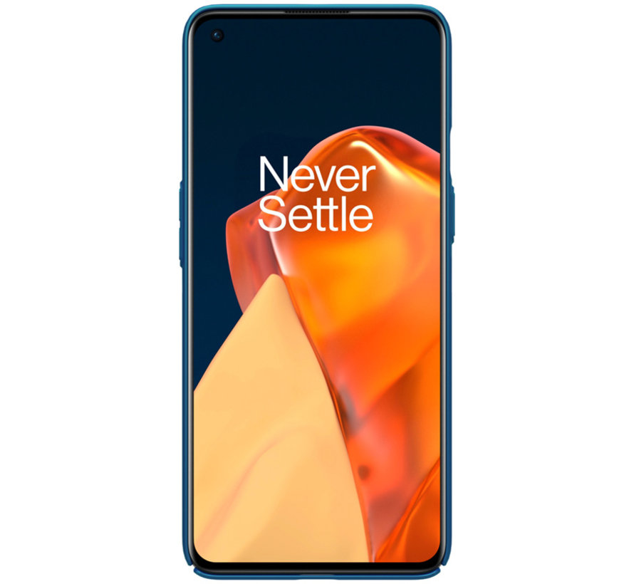 OnePlus 9 Case Super Frosted Shield Blau