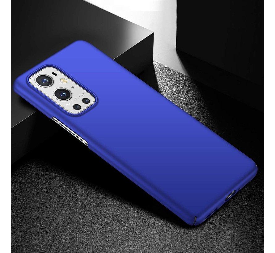 OnePlus 9 Pro Case Ultra Slim Grip Blau
