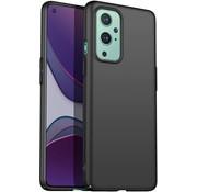 OPPRO OnePlus 9 Case Ultra Slim Grip Schwarz