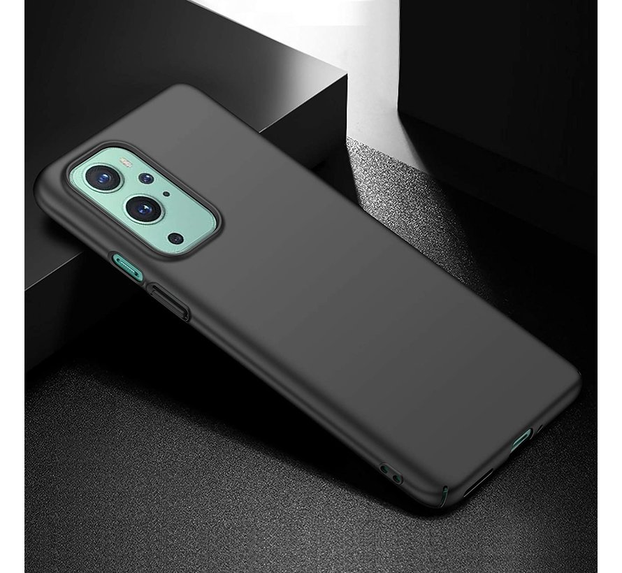 OnePlus 9 Hoesje Ultra Slim Grip Zwart