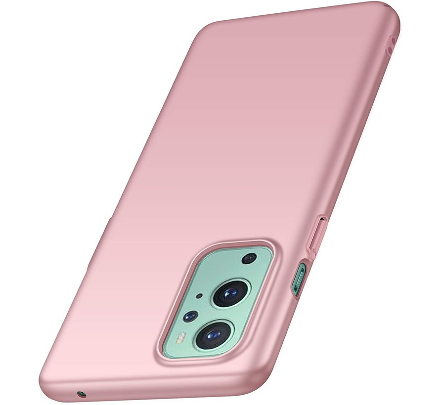 OnePlus 9 Case Ultra Slim Grip Pink