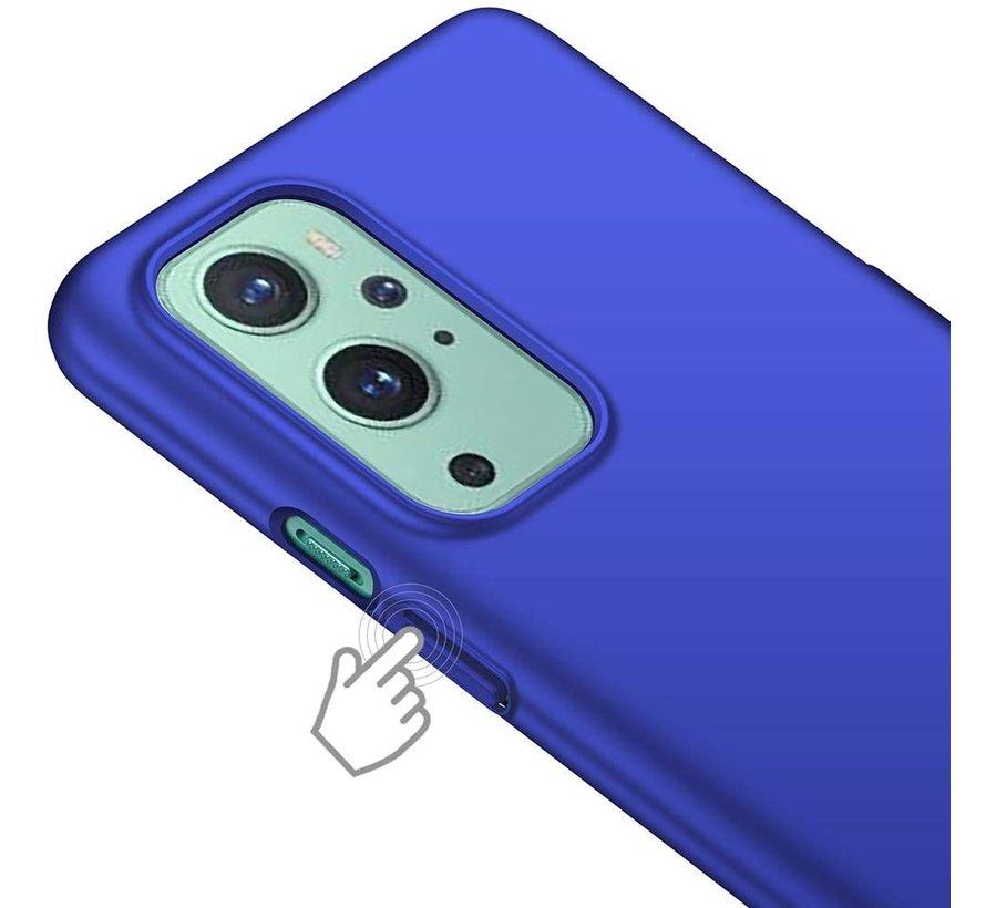 OnePlus 9 Case Ultra Slim Grip Blue