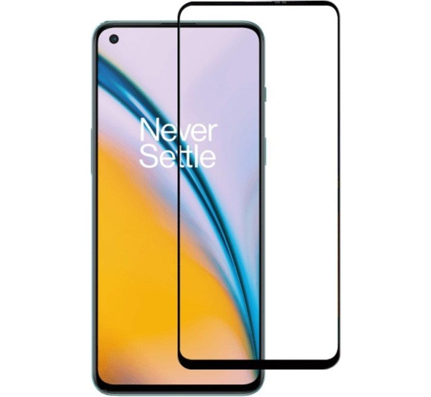 OnePlus Nord 2 3D Displayschutzfolie aus gehärtetem Glas (2 Stk.)