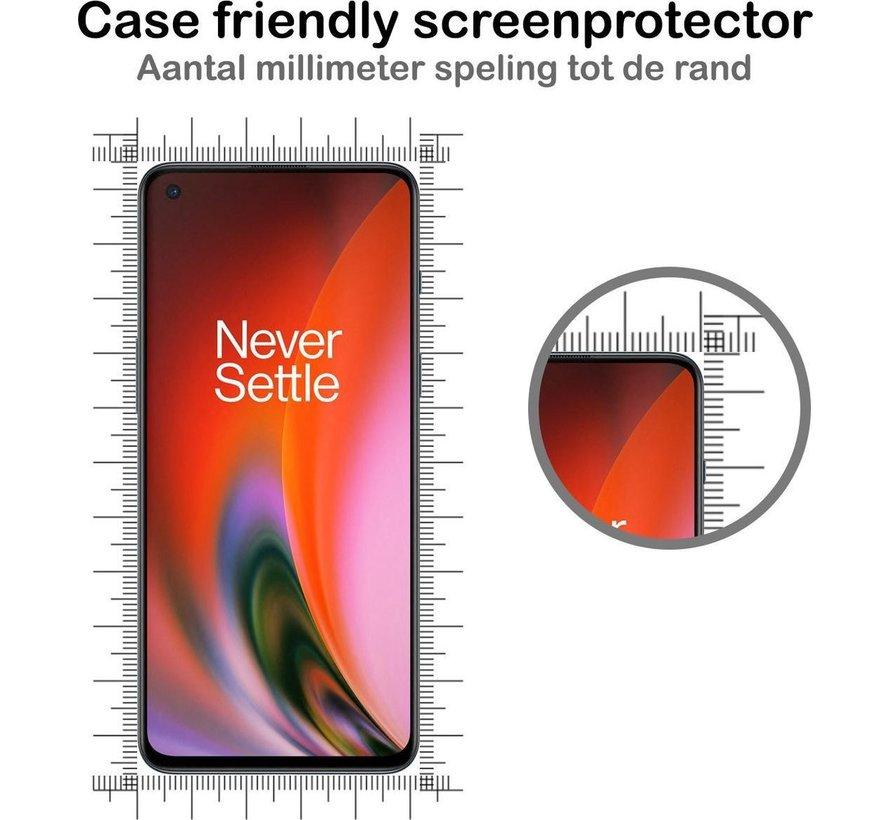 OnePlus Nord 2 Glas Displayschutzfolie 9H + 2.5d (2 Stk.)