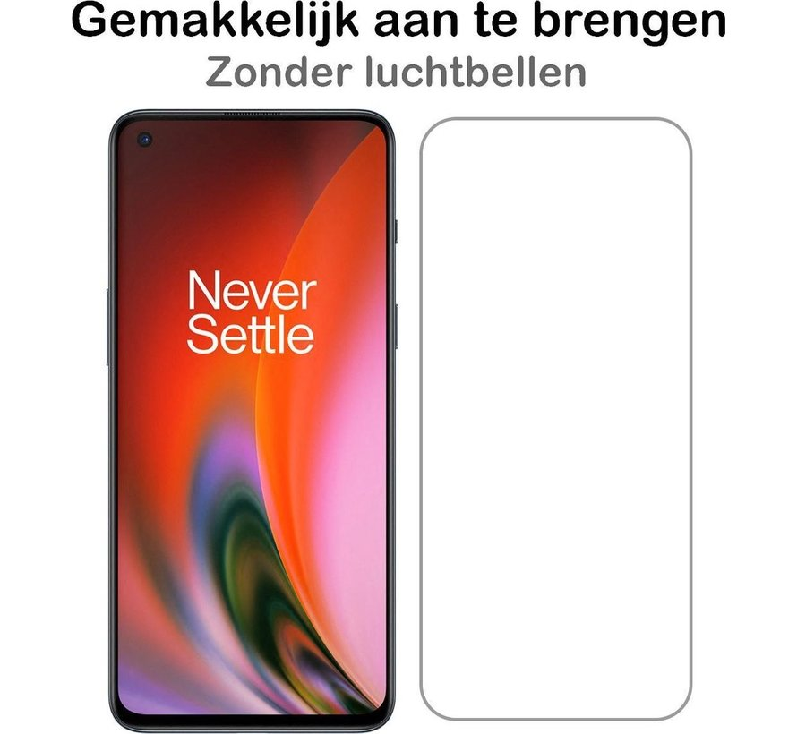 OnePlus Nord 2 Screen Protector Clear ScreenPlex (2 st.)