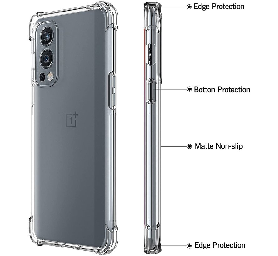 OnePlus Nord 2 Hoesje Xtreme TPU Transparant