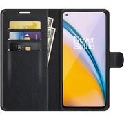 OPPRO OnePlus Nord 2 Wallet Flip Case Zwart