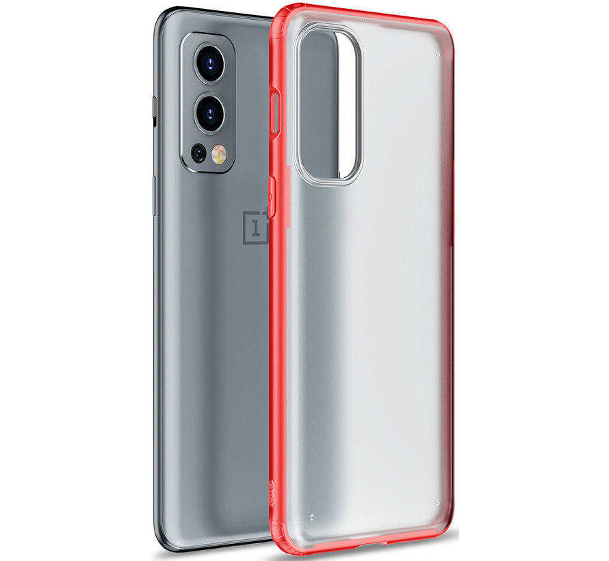 OnePlus Nord 2 Merge Bumper Case Rot