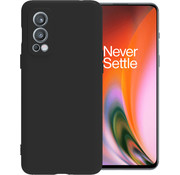 OPPRO OnePlus Nord 2 Case Liquid Silicone Black