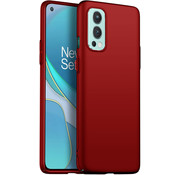 OPPRO OnePlus Nord 2 Case Ultra Slim Grip Red