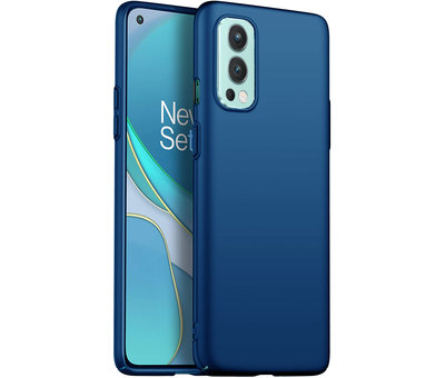 OPPRO OnePlus Nord 2 Hülle Ultra Slim Grip Blau