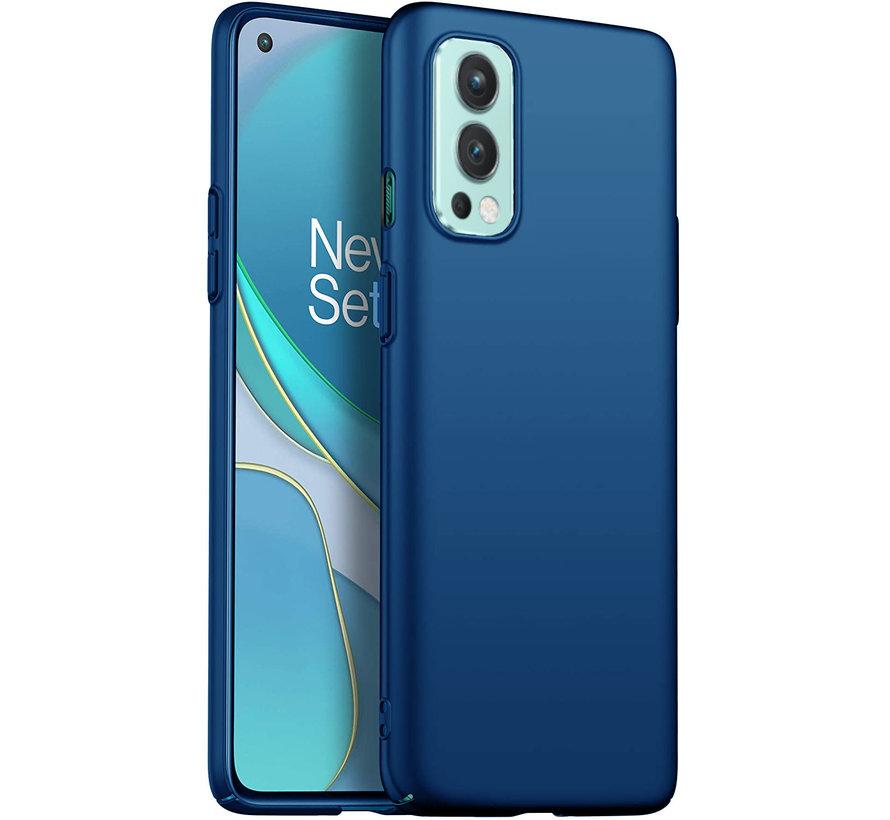 OnePlus Nord 2 Hoesje Ultra Slim Grip Blauw