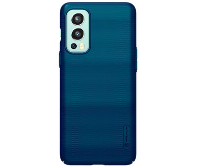 Nillkin OnePlus Nord 2 Hülle Super Frosted Shield Blau