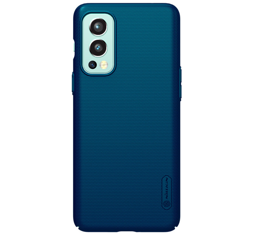 OnePlus Nord 2 Hoesje Super Frosted Shield Blauw