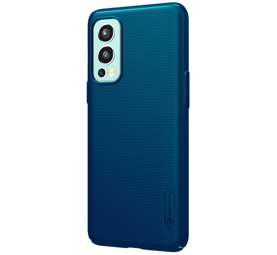 OnePlus Nord 2 Hülle Super Frosted Shield Blau