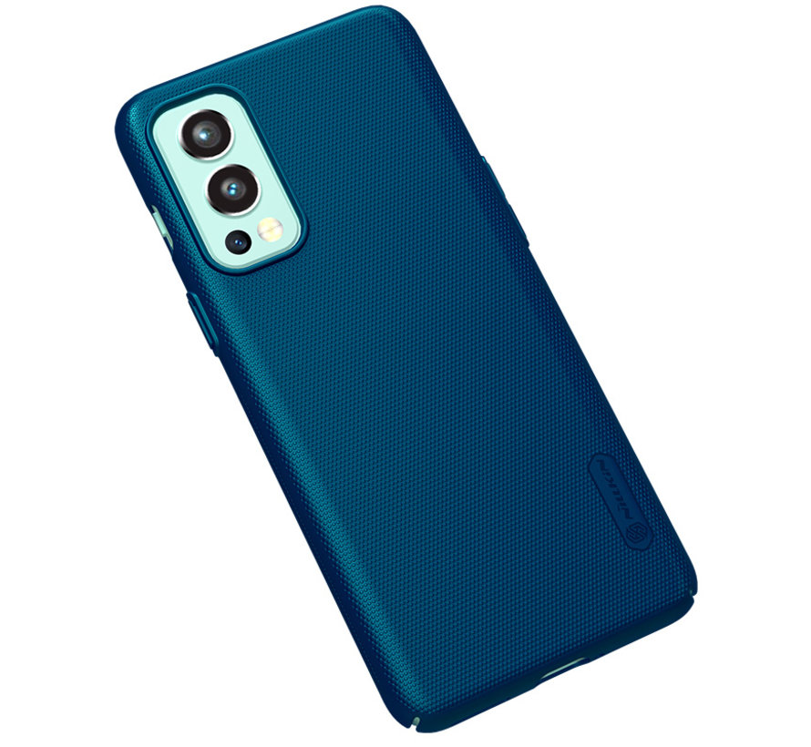 OnePlus Nord 2 Case Super Frosted Shield Blue