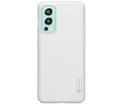 Nillkin OnePlus Nord 2 Hülle Super Frosted Shield Weiß