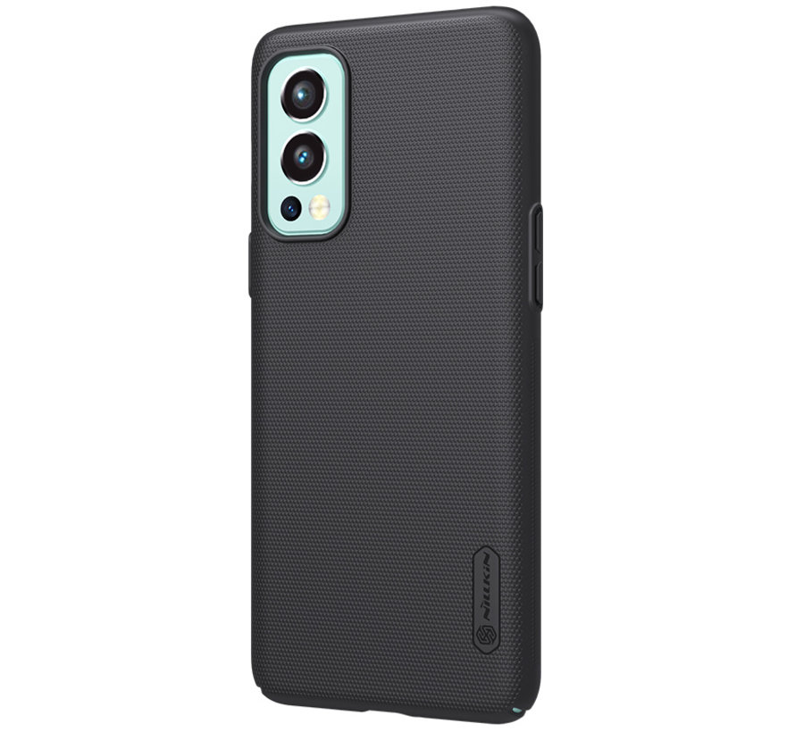 OnePlus Nord 2 Hülle Super Frosted Shield Schwarz