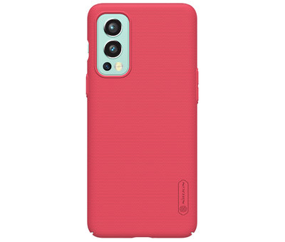 Nillkin OnePlus Nord 2 Hülle Super Frosted Shield Rot