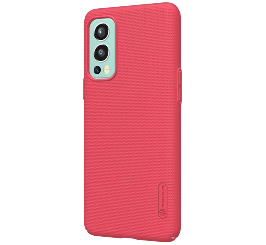 OnePlus Nord 2 Case Super Frosted Shield Red