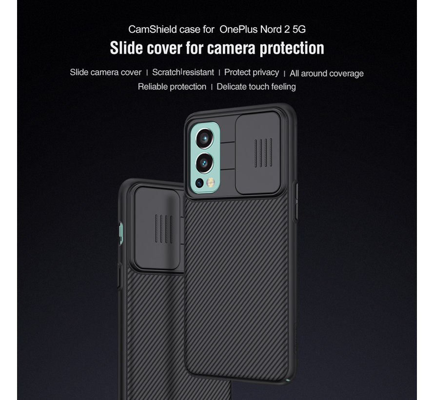 OnePlus Nord 2 Case CamShield Pro Blue