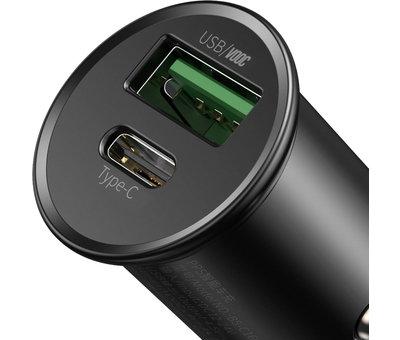 BASEUS Autoladegerät 30W USB A & USB C
