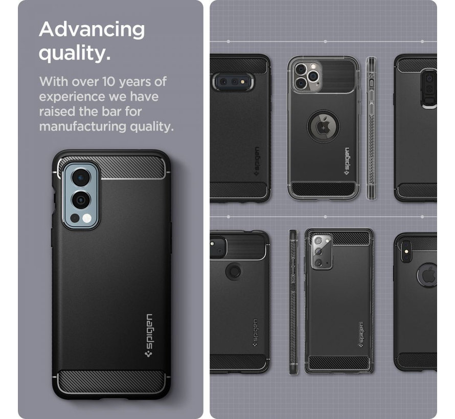 OnePlus Nord 2 Case Rugged Armor