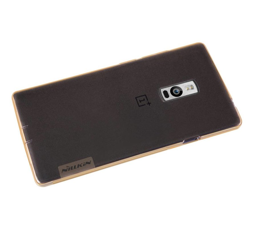 TPU Hülle Transparent Braun OnePlus Two