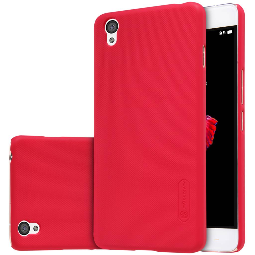 best service c335c e4c75 Nillkin Frosted Red Shield OnePlus X