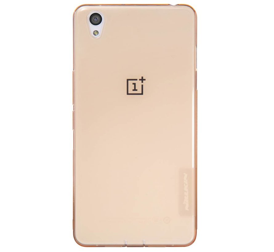 TPU case Transparent Brown OnePlus X