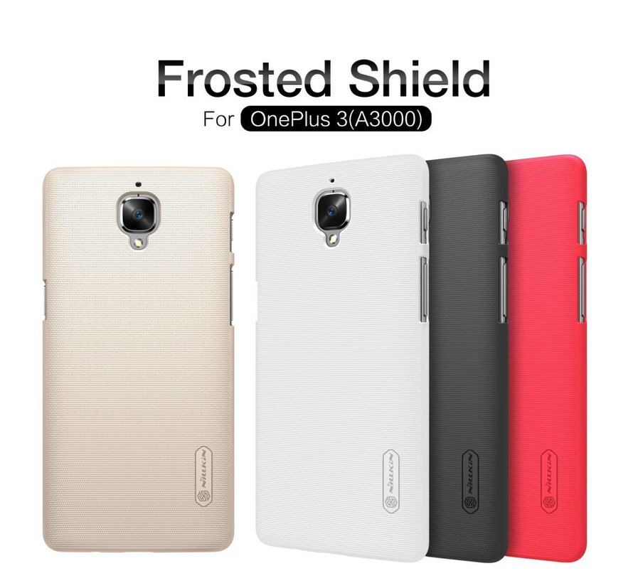 Frosted Shield Case Weiß OnePlus 3 / 3T