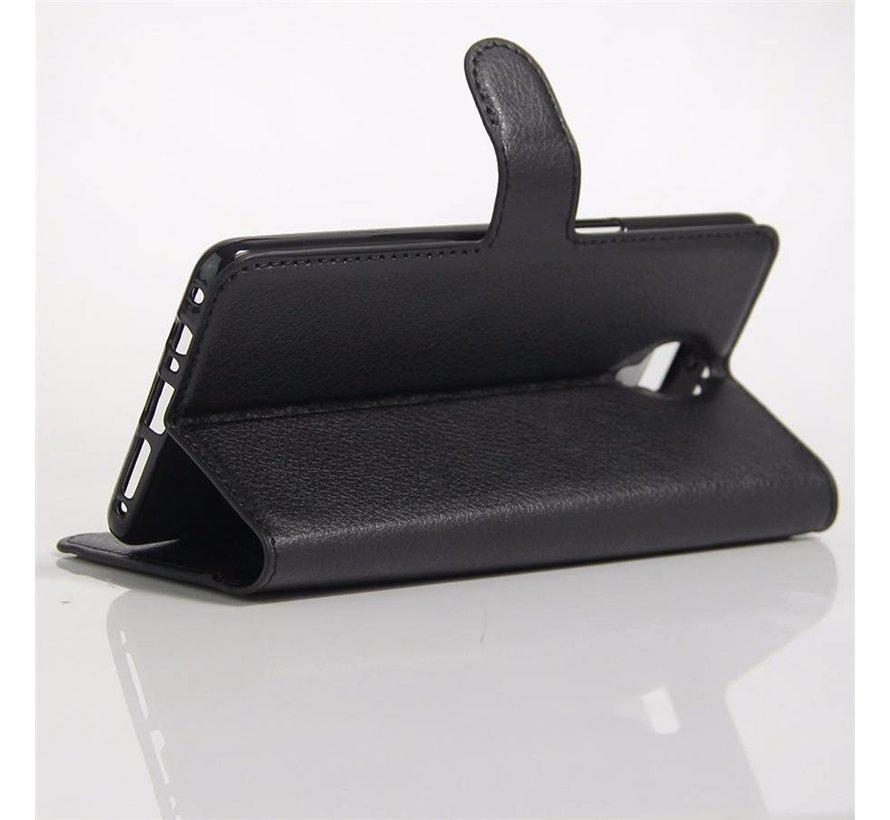 Brieftasche Flip Case Schwarz OnePlus 3 / 3T