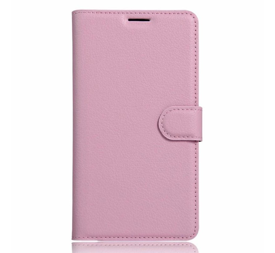 Wallet Flip Case Light Pink OnePlus 3