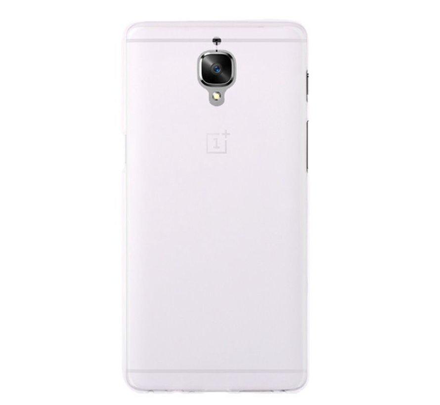 Silicone Case White OnePlus 3 / 3T