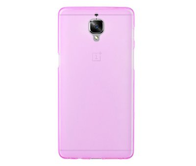 OPPRO Silicone Case Pink OnePlus 3 / 3T
