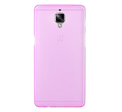OPPRO Silicone Case Roze OnePlus 3/3T