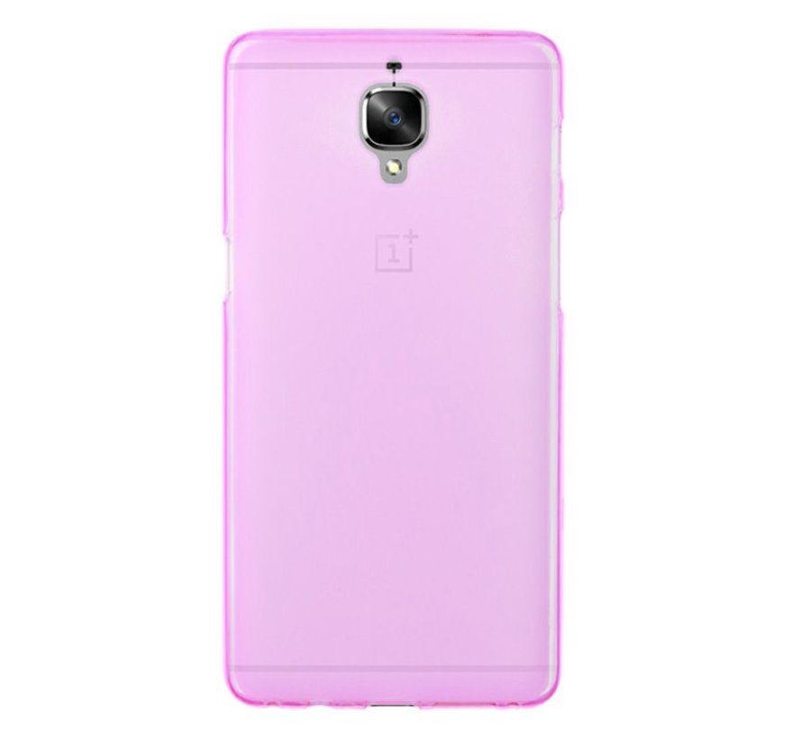 Silicone Case Pink OnePlus 3 / 3T