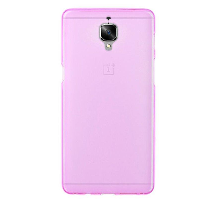Silikonhülle Pink OnePlus 3 / 3T
