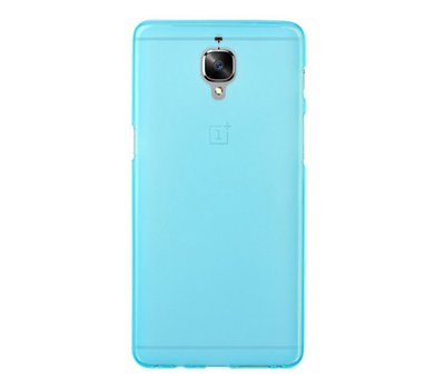 OPPRO Silicone Case Blue OnePlus 3 / 3T