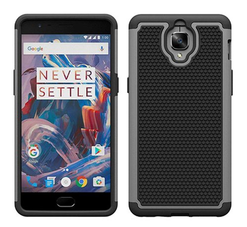OPPRO Dual Layer Case Grey OnePlus 3