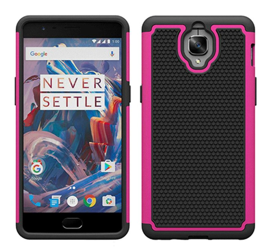 Dual Layer Case Roze OnePlus 3/3T