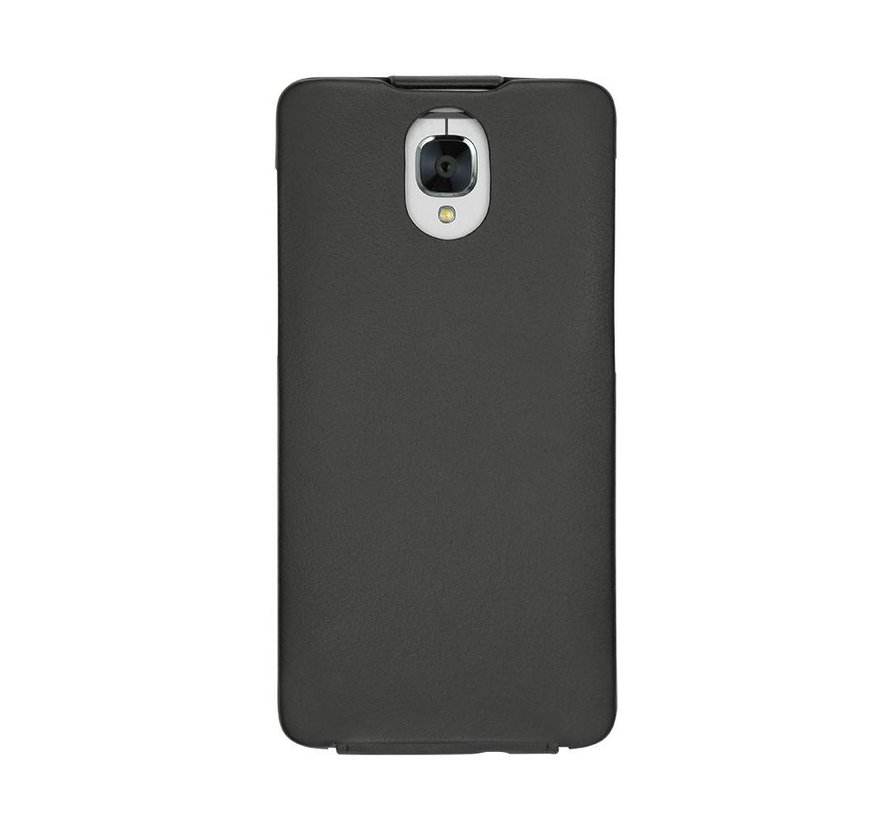 Tradition Nappa Leather Slim Case Black OnePlus 3/3T