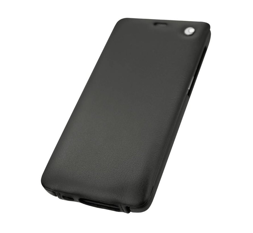 Tradition Nappaleder Slim Case Schwarz OnePlus 3 / 3T
