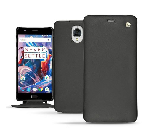Noreve Tradition Nappa Leather Slim Case Black OnePlus 3 / 3T