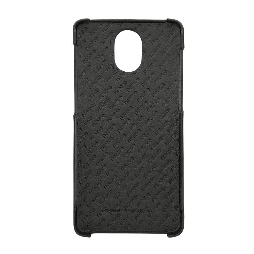 premium selection beb58 5c4f7 Noreve Tradition E Nappa Leather Cover Black OnePlus 3 / 3T